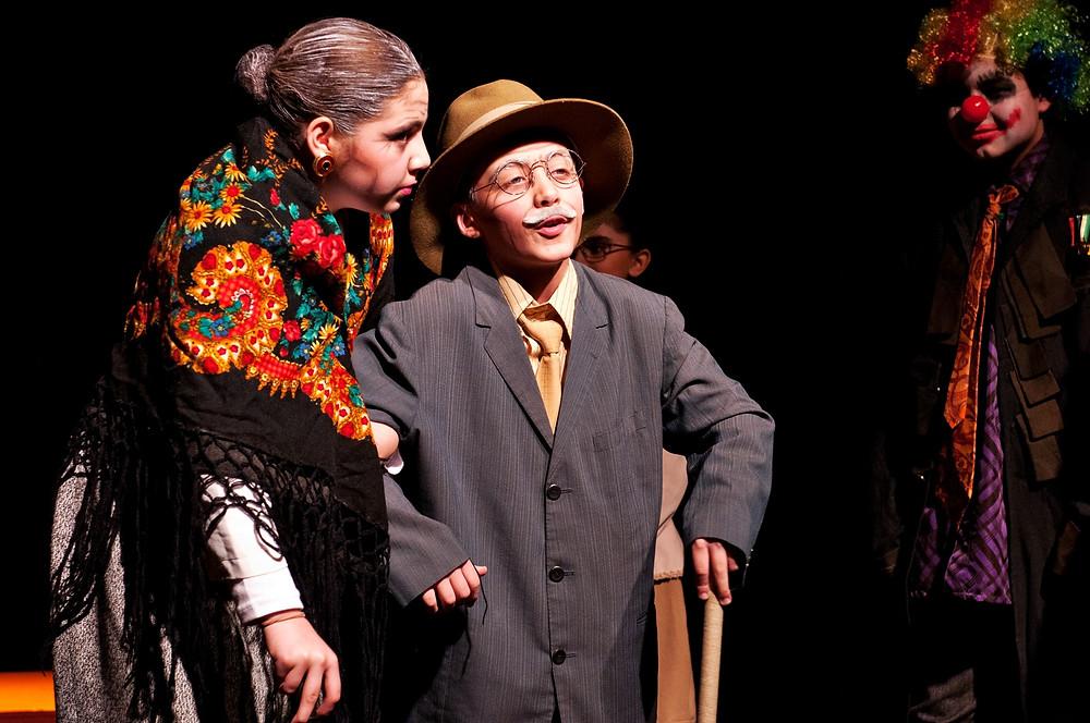 Iniciação Teatral para crianças na Casa de Teatro de Porto Alegre com Jeffie Lopes