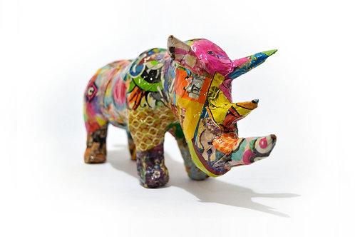 RIFA | Rinoceronte Colorido - prazo 10/07/2020 - [ 21 cupons ]