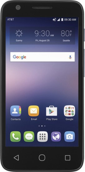 Alcatel Ideal 4G LTE Cell Phone - Slate Blue *BN*