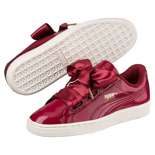 Basket Heart Patent Women's Sneakers *BN*