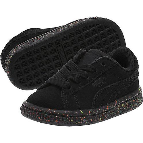 Kids Suede Classic Multi Splatter Sneakers *BN*