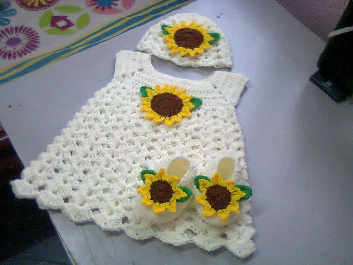 Hat Mama C White Dress Hat Shoe SunFlower Style