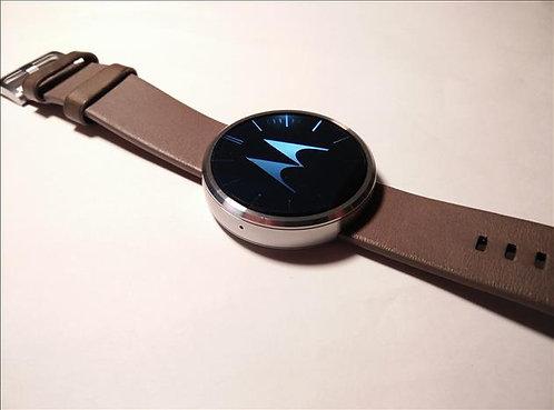 Cognac Motorola Moto 360 - Smart Watch *OB*