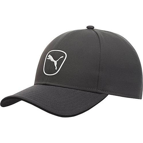 Men's Puma Periscope Grey Cat Patch 2.0 Adjustable Golf Hat *BN*