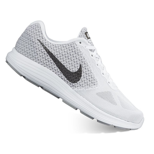 malta ensillar Revisión  Women's Nike Revolution 3 White Running Shoes*BN* | U-SIM LLC LLC