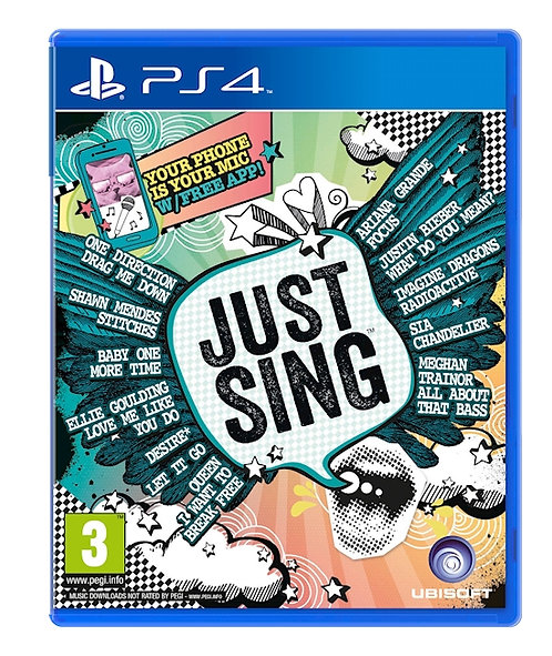 PS4 Just Sing *BN*