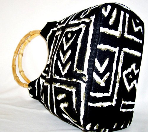 Black African Purse Wood handle