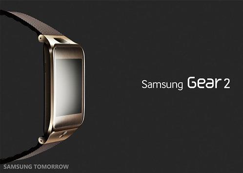 Brown Gold - Samsung Gear 2 Smart watch *OB*