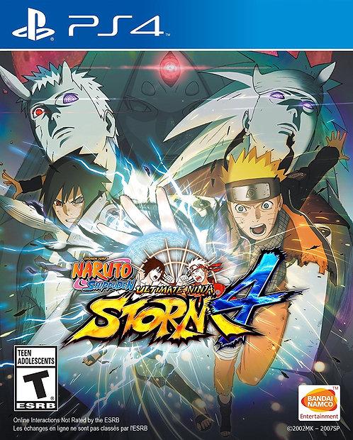 Naruto Shippuden Ultimate Ninja Storm 4 Play Station 4*BN*