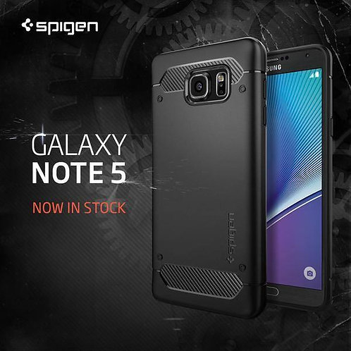 Spigen Rugged Galaxy Note 5 Case Protection