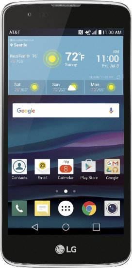 LG Phoenix 2 4G LTE with 8GB Memory Cell Phone - Black *BN*