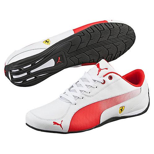 Men's White Rosso Corsa Ferrari Drift Cat 5 *BN*