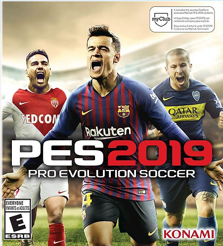 PES 2019: Pro Evolution Soccer *BN*