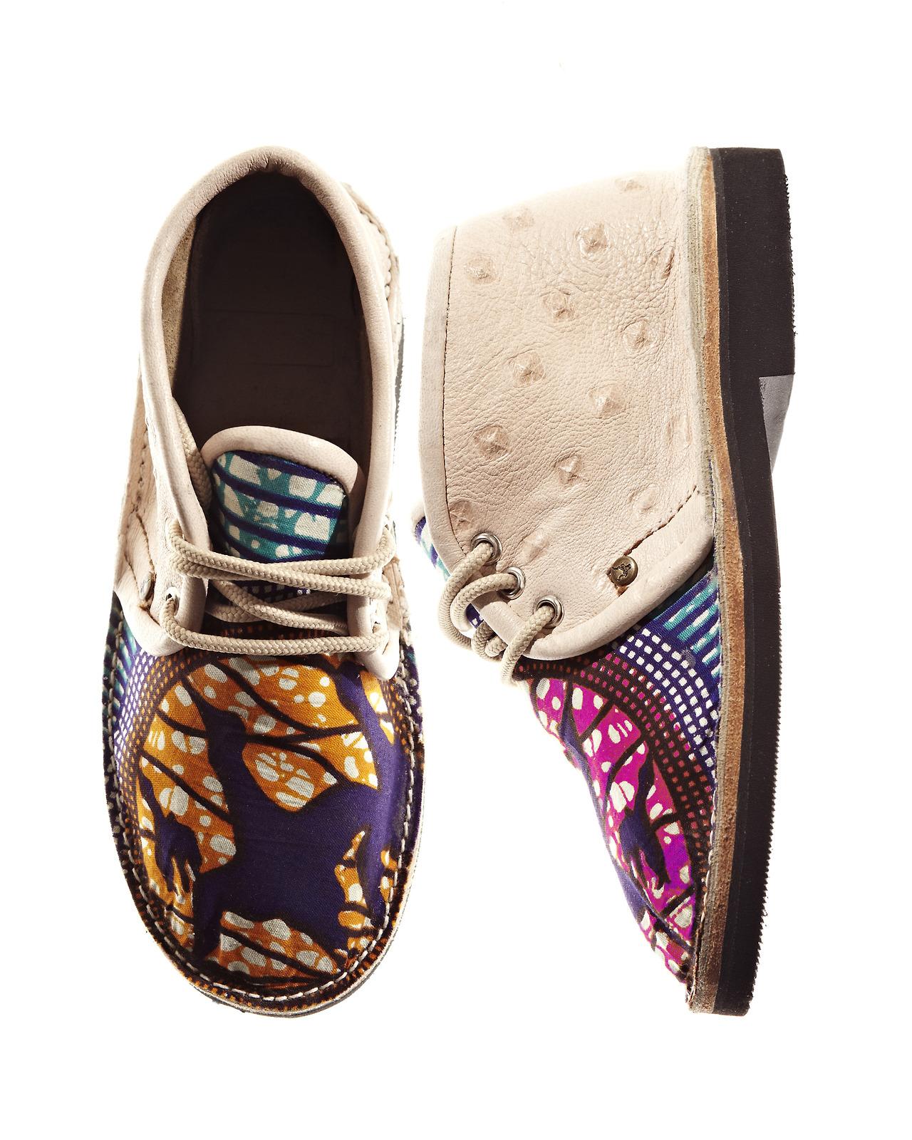 Kids African walk boots