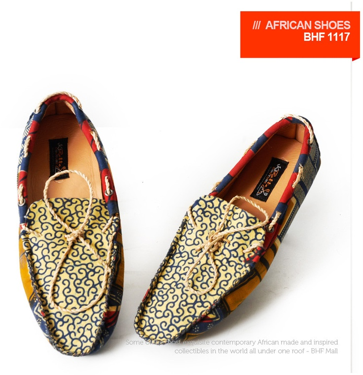 Man African Loafers