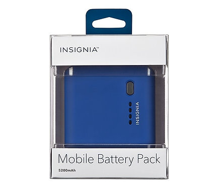 Insignia™ - Mobile Battery Pack 5200 mAh *BN*
