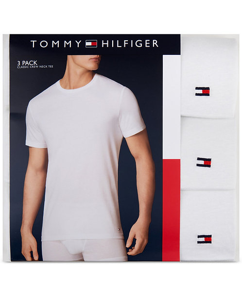 Tommy Hilfiger Men Classic Crew 3Pack  *BN*