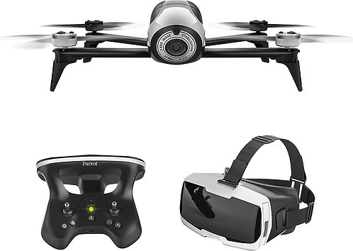 Parrot - Bebop 2 Quadcopter with Skycontroller 2 and Cockpit FPV Glasses *BN*