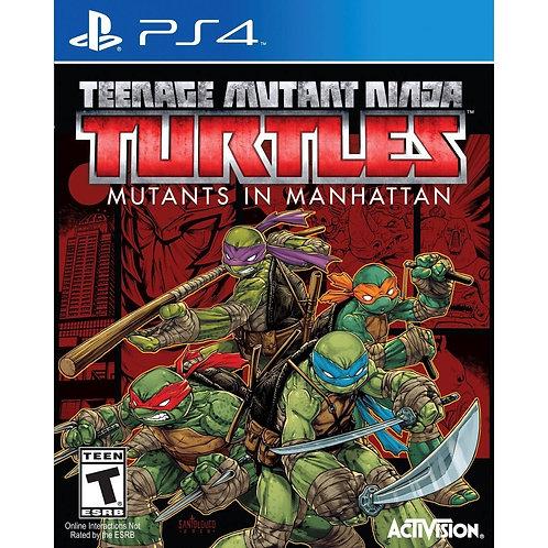 PS4 Teenage Mutant Ninja Turtles: Mutants in Manhattan *BN*