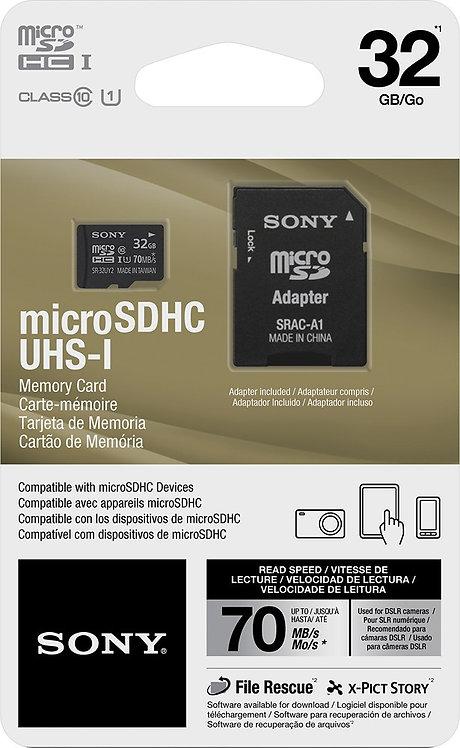 Sony 32Gb microSDHC Memory Card *BN*