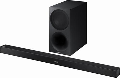 "Samsung - 2.1-Channel Soundbar System with 7"" Wireless Subwoofer *BN*"