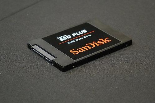 "SanDisk 240 GB Internal SSD ‑ 2.5"" ‑ PLUS *BN*"