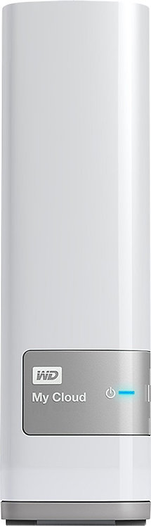 Wester Digital - My Cloud 4TB External Hard Drive (NAS) - White *BN*