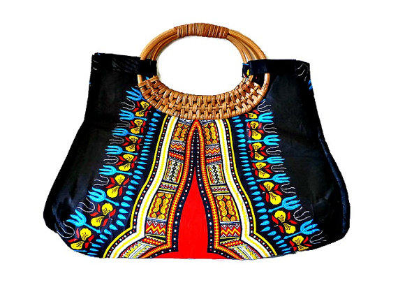 African Black Tote Wood handle