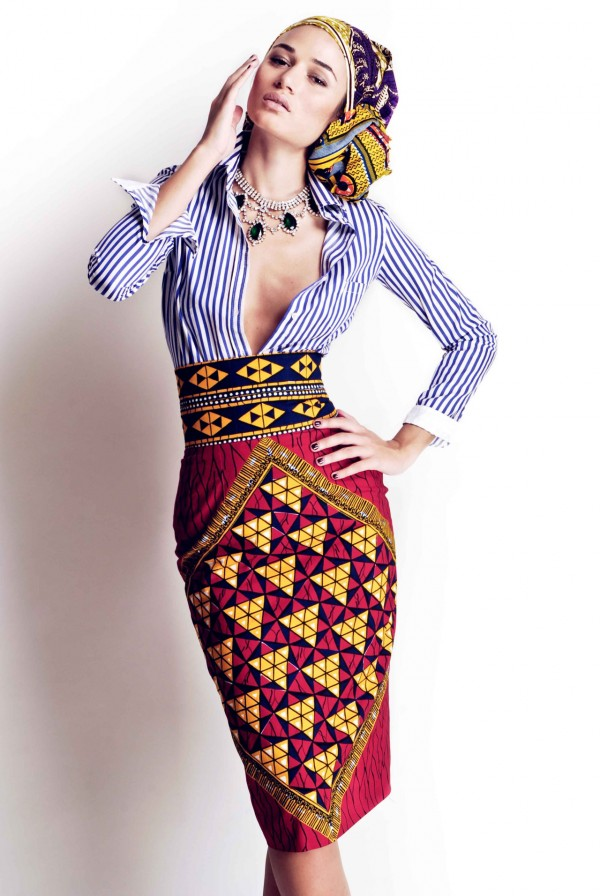 African Stylish DressShirt Mix