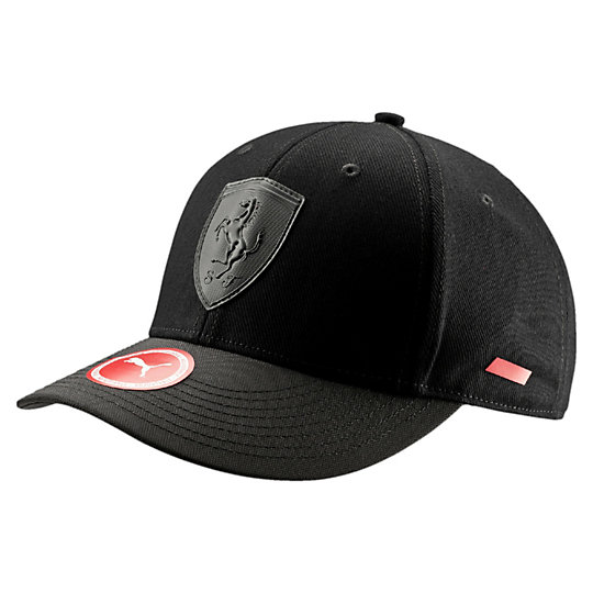 Men Ferrari Mansion Adjustable Hat Blk
