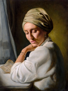 Young Woman in a Turban