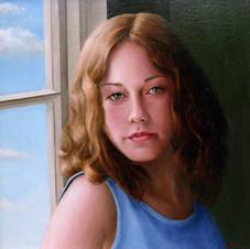 Teenager at Window