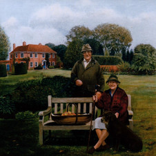 Sir Keith and Lady Skinner