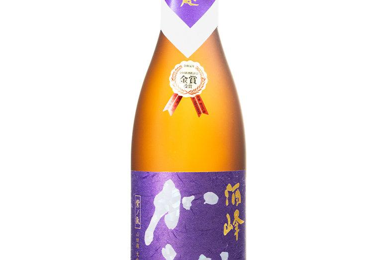酒峰加越 紫ノ気大吟醸しずく原酒 1.8L