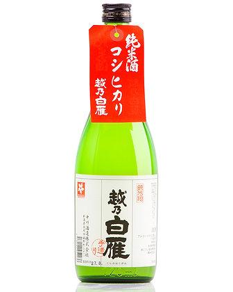 越乃白雁 コシヒカリ純米酒