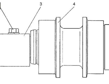 0901-21-115СП каток поддерживающий т-9.01, каток четра т9, тм9.01 каток четра т9м