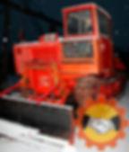 Трактор трелевочный ТДТ-55 с толкателем