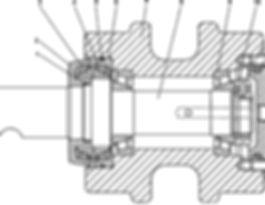 0901-21-216СП каток поддерживающий т-9.01, каток четра т9, тм9.01 каток четра т9м