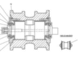 1501-21-44-03СП каток опорный т-15.01, каток четра т15, т-15.02 каток четра т15м