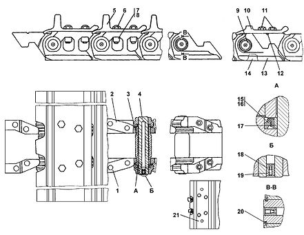 ТЖ25-22-000-10СБ гусеница т-25.01, т25, т-2501