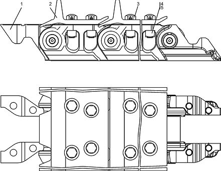 1501-22-1СП гусеница т-15.01, т15, т-1501