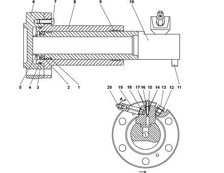4001-21-117-02СП механизм натяжения т-35.01, т35, т-35.02