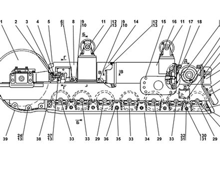 2501-21-3СП тележка т-25.01, т25, т-2501 Промтрактор