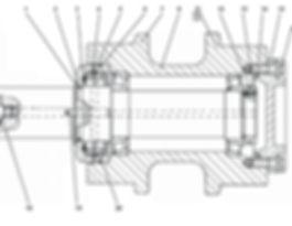 403-21-15СПкаток поддерживающий т-35.01, т35, т-3501