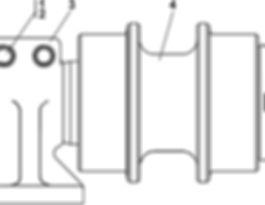 3501-21-150СПкаток поддерживающий т-35.01, т35, т-35.02