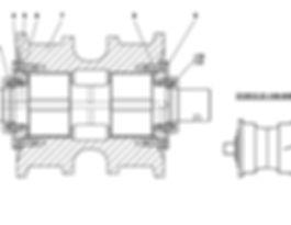 313512-21-140-05СП каток опорный т-35.01, т35, т-35.02