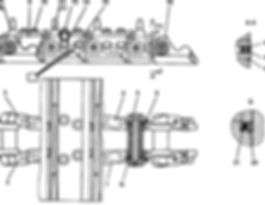 2001-22-1СП гусеница т-20.01, т20, т-2001