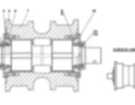 313512-21-140-06СП каток опорный т-35.02, т35, т-35.02я, т-35.02к