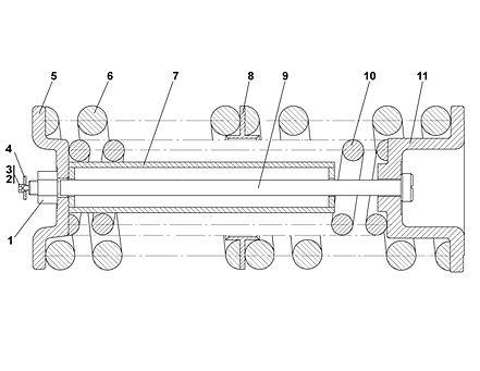 2501-21-45СП механизм сдавания т-25.01, т25, т-2501