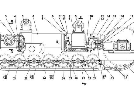 3501-21-2СП тележка т-35.01, т35, т-3501
